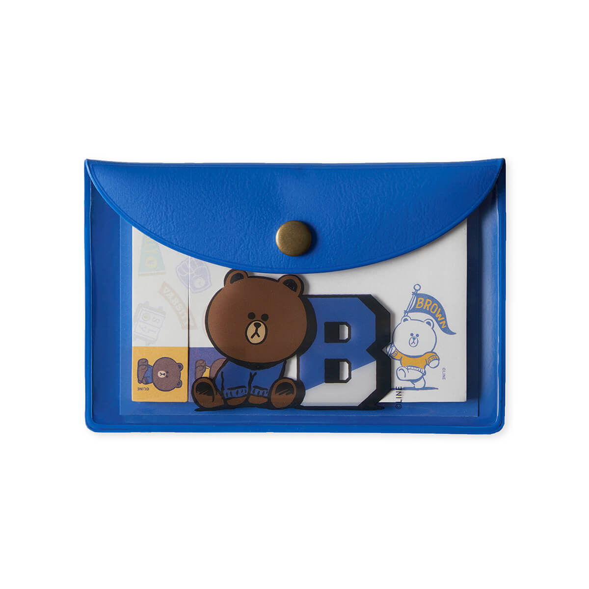 BF BROWN 20 UNIVERSITY Sticky Memo Set