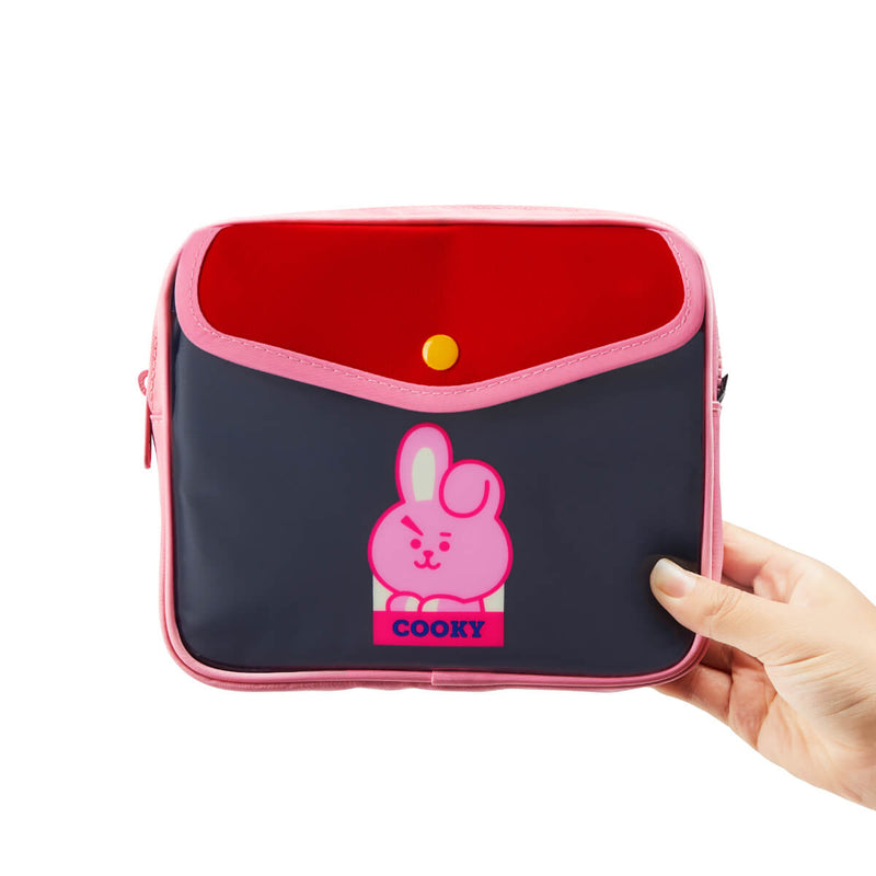 BT21 COOKY Colorful Multi Pouch