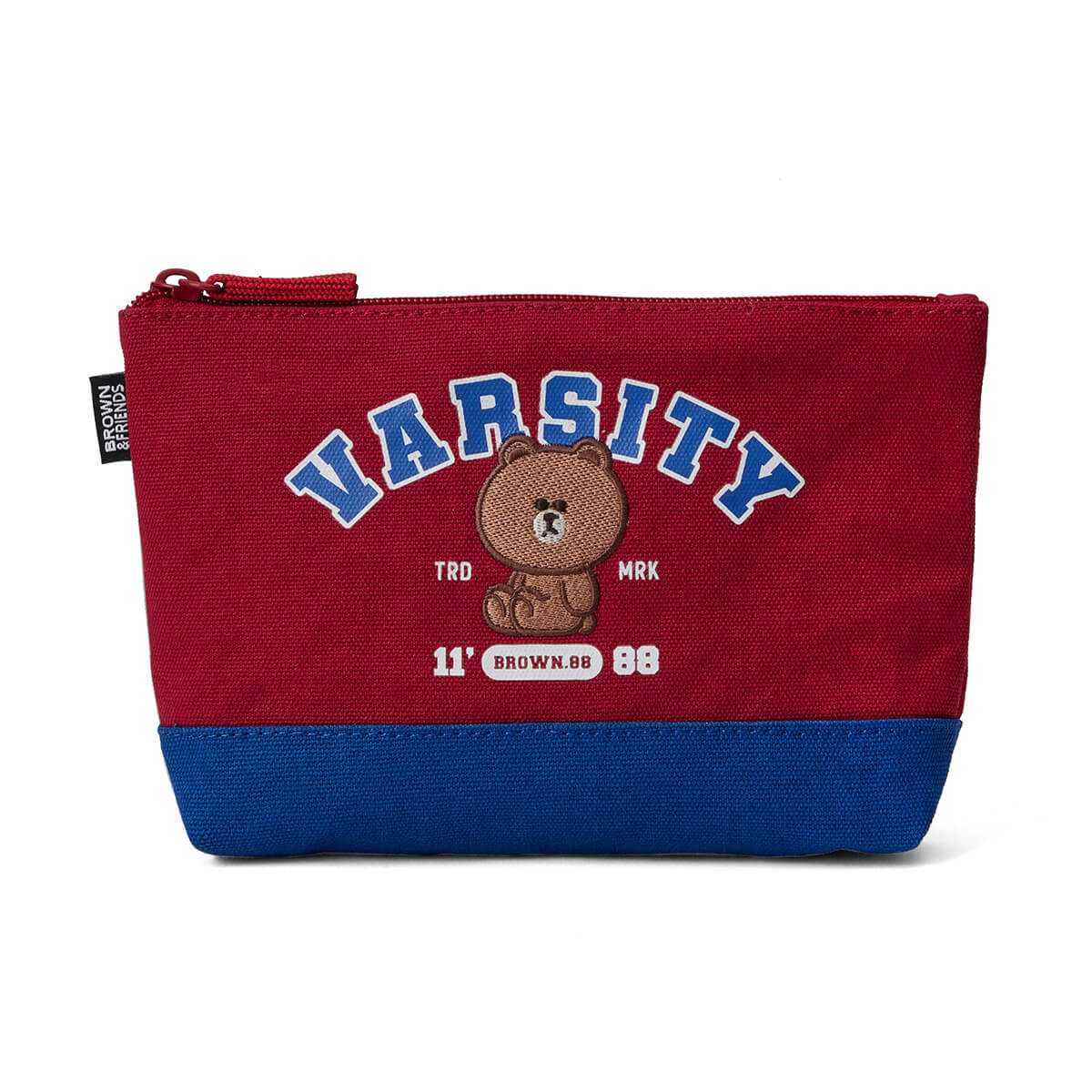 BROWN 20 University Slim Pouch Red