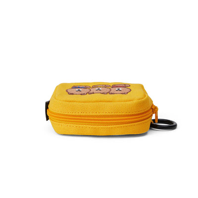 BROWN 20 University Multi Pouch Yellow (S)