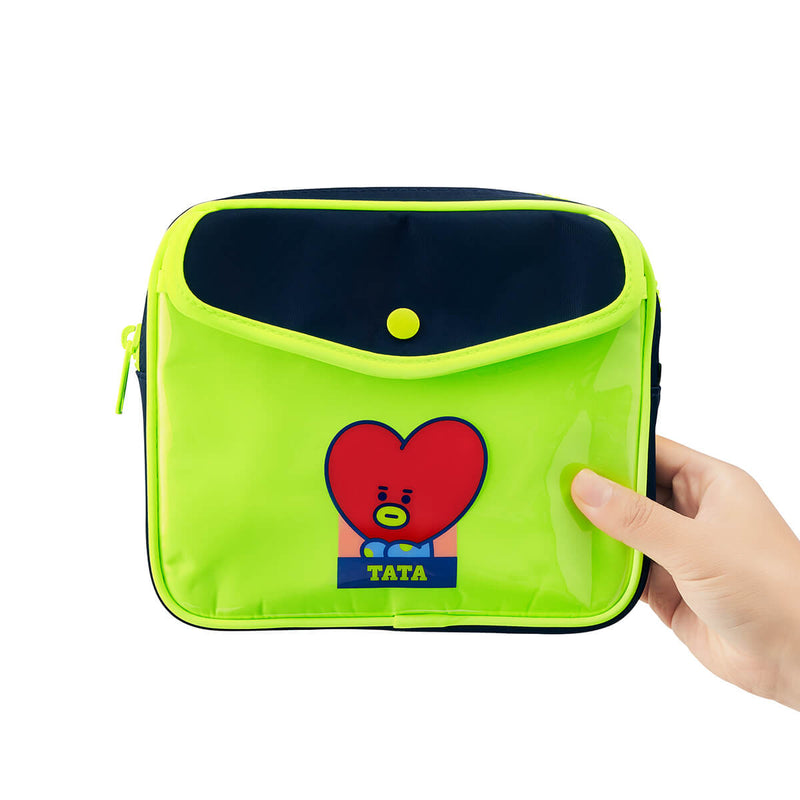 BT21 TATA Colorful Multi Pouch
