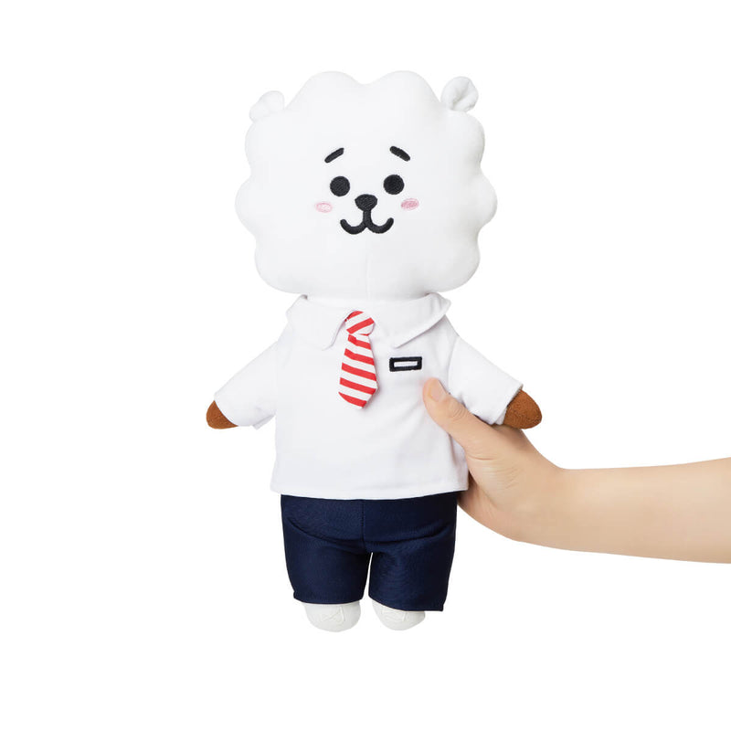 BT21 RJ School Look Standing Doll