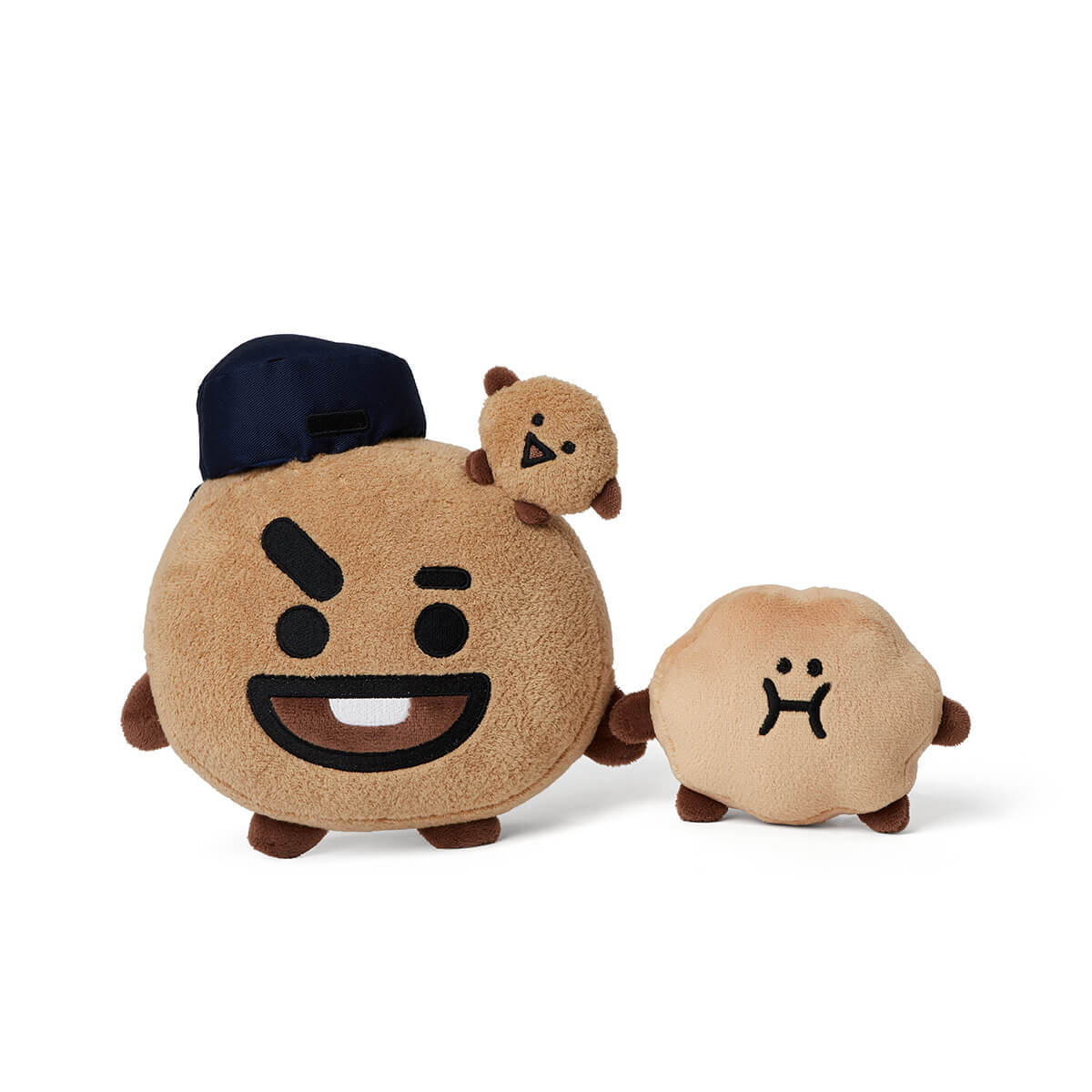 BT21 SHOOKY School Look Standing Doll