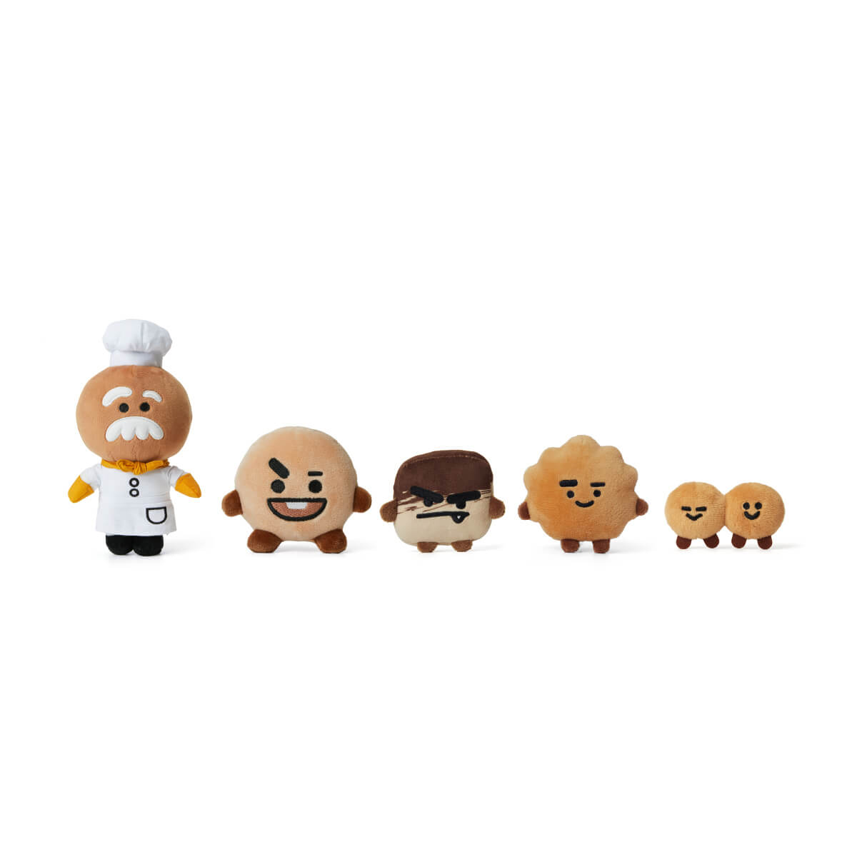 BT21 SHOOKY Universe Standing Doll Set