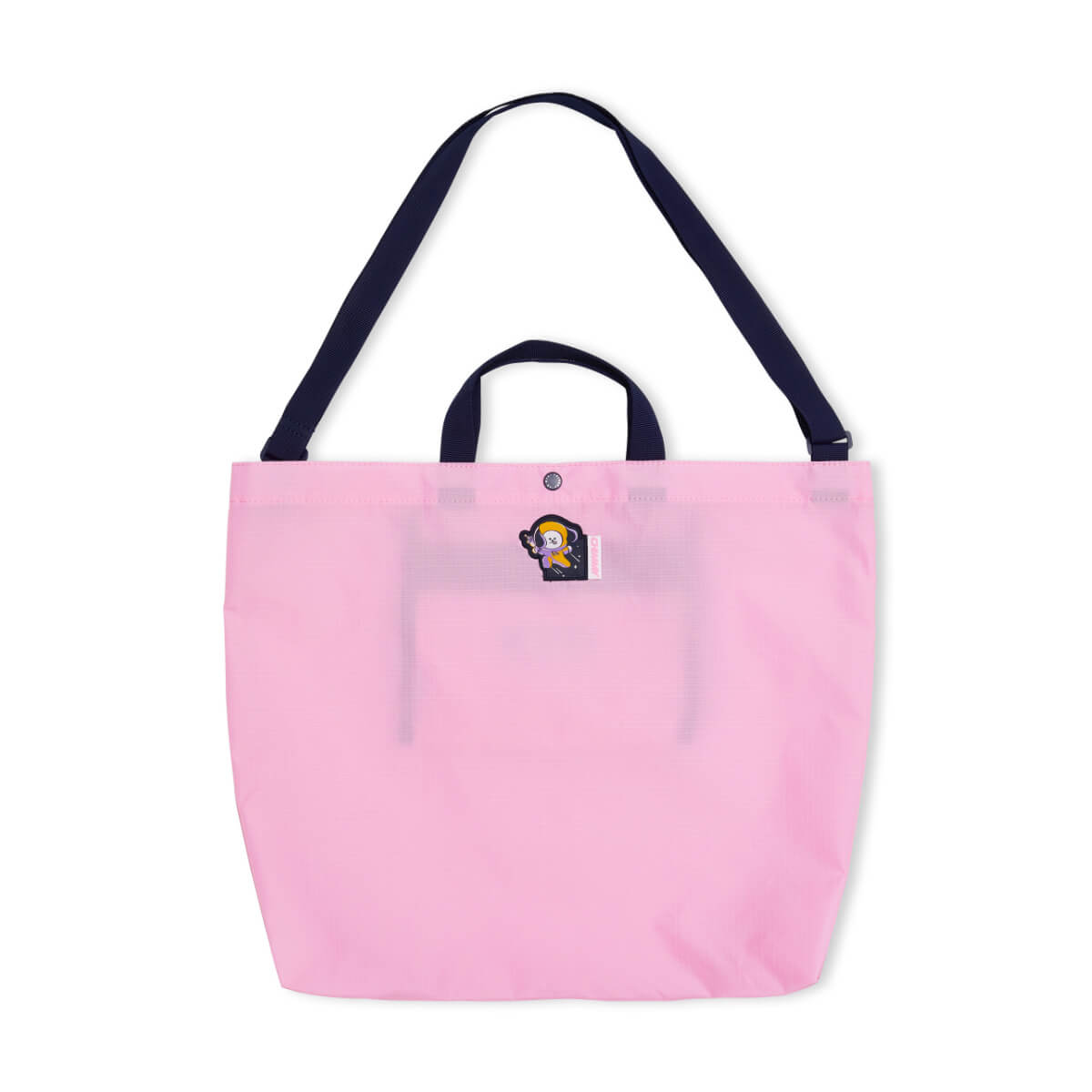 BT21 CHIMMY SPACE WAPPEN Ripstop Fold Up Bag