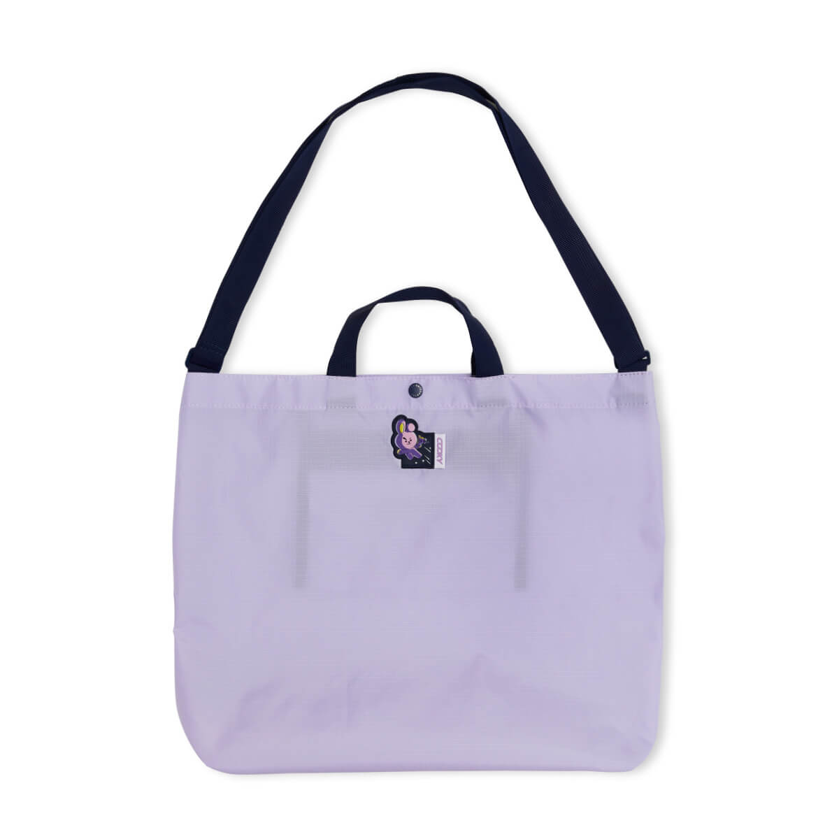 BT21 COOKY SPACE WAPPEN Ripstop Fold Up Bag
