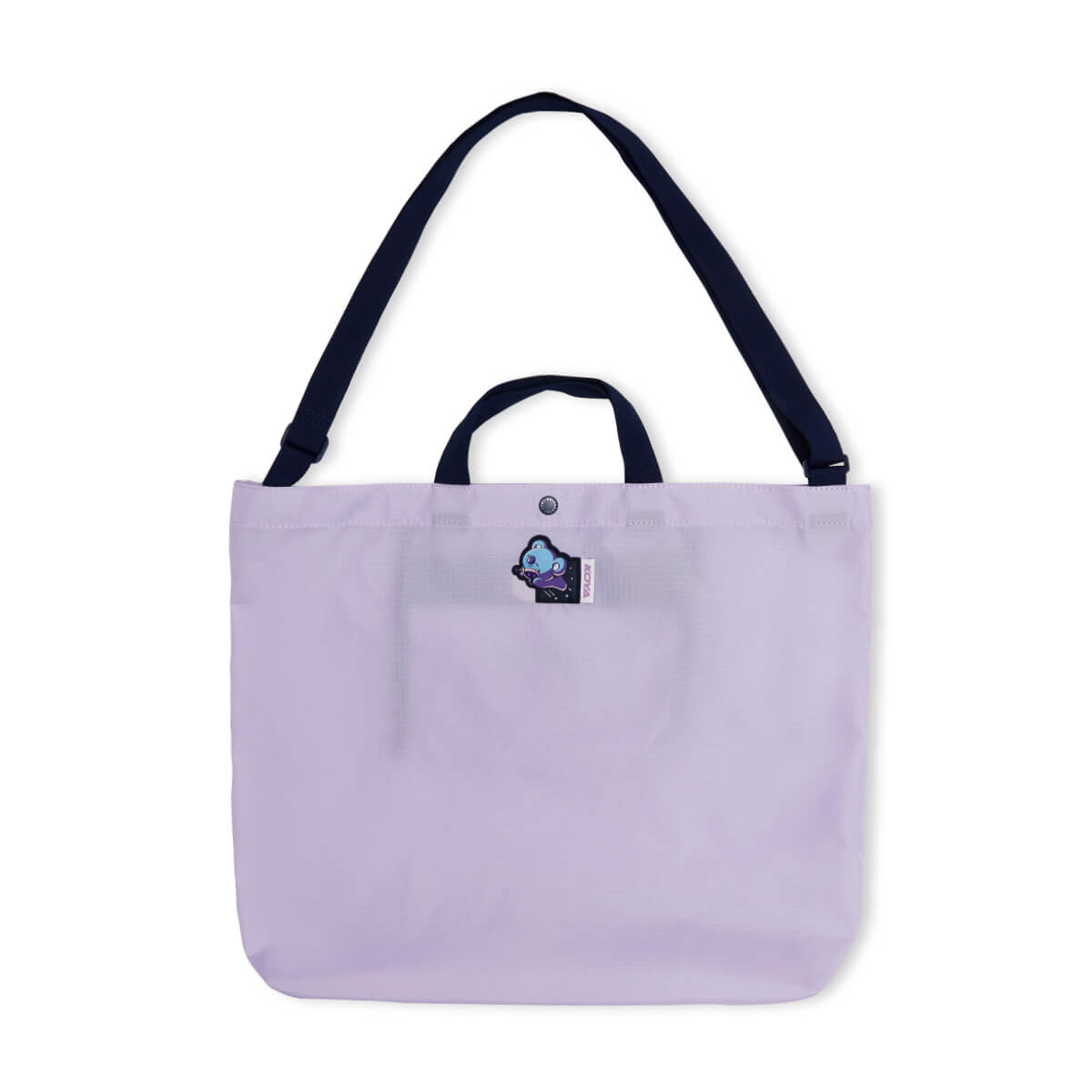 BT21 KOYA SPACE WAPPEN Ripstop Fold Up Bag