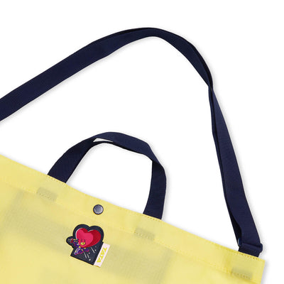 BT21 TATA SPACE WAPPEN Ripstop Fold Up Bag
