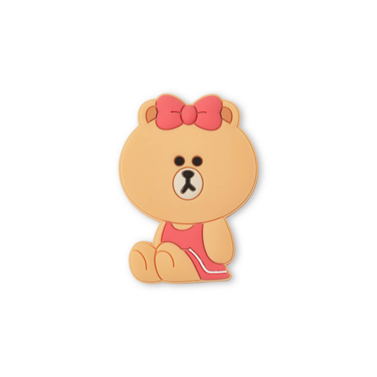LINE FRIENDS CHOCO Sitting Silicone Magnet