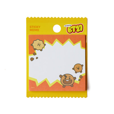 BT21 SHOOKY Swwet Sticky Notes