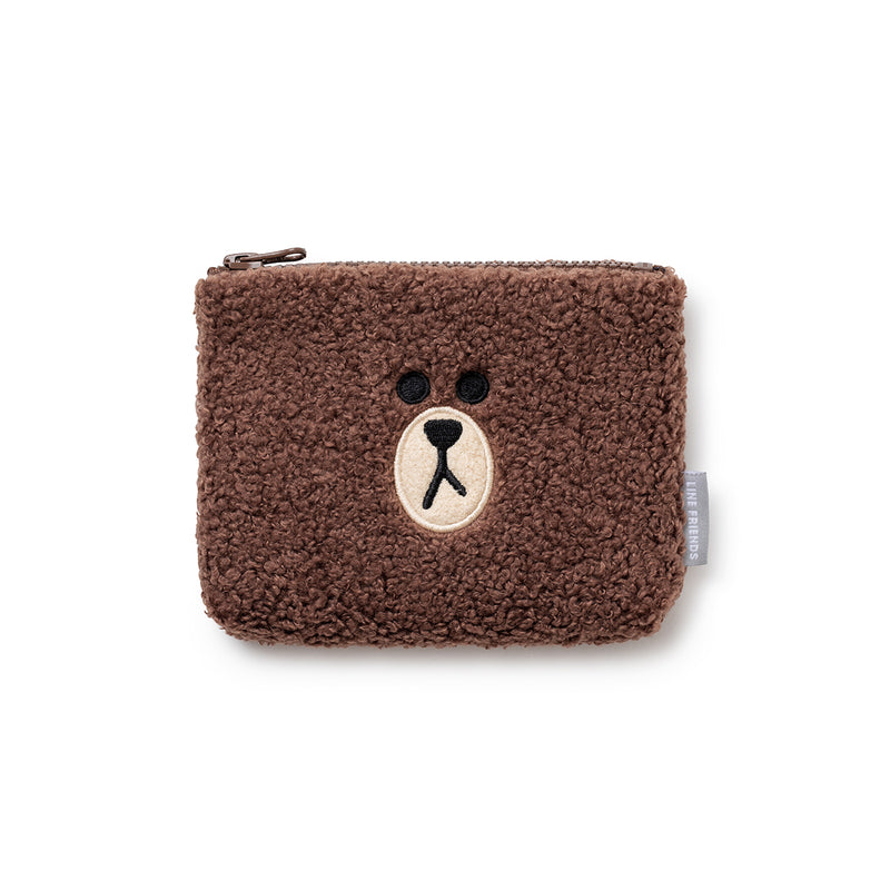 BROWN Ppogeul Slim Pouch