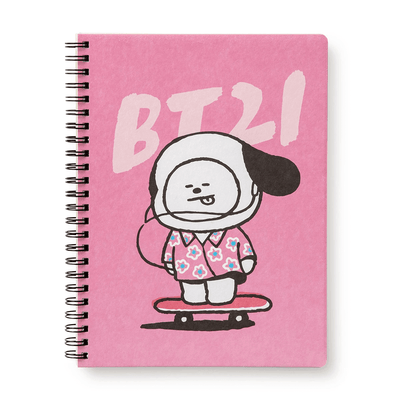 BT21 CHIMMY  Music A5 Ruled Spiral Notebook