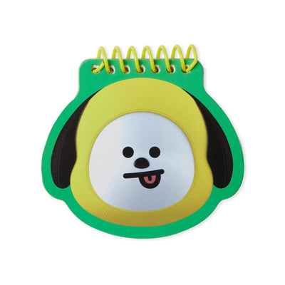 BT21 CHIMMY Face Mini Spiral Notepad