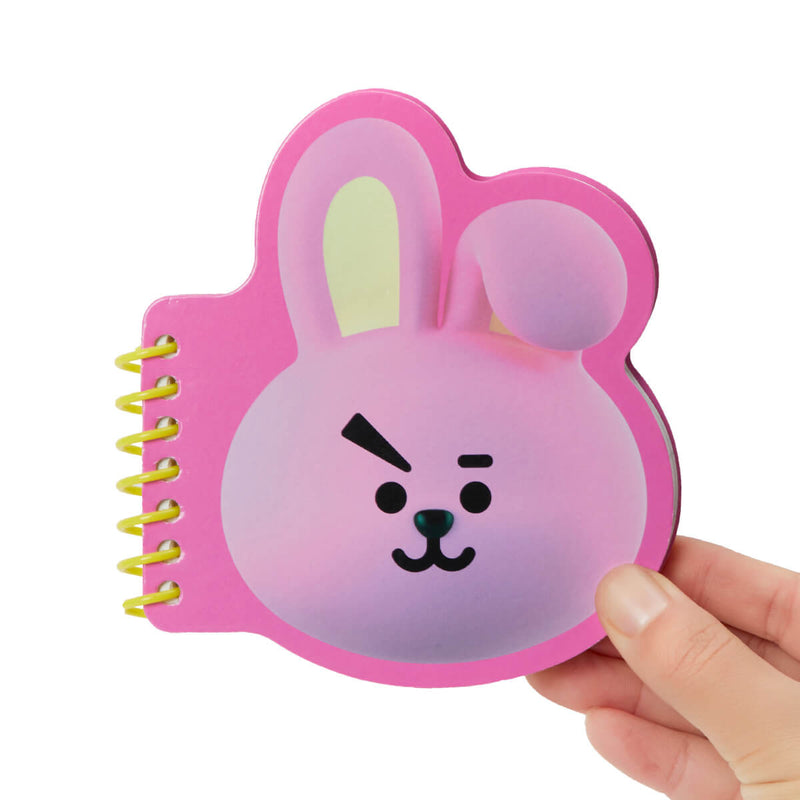 BT21 COOKY Face Mini Spiral Notepad