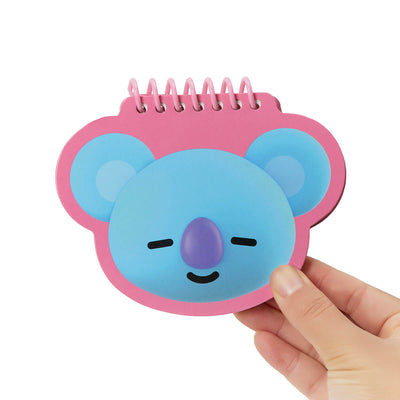 BT21 KOYA Face Mini Spiral Notepad