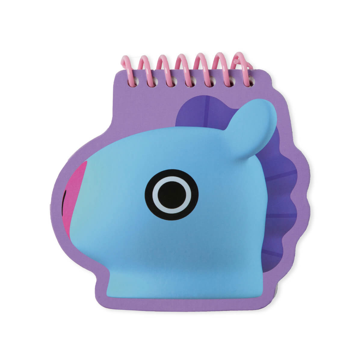 BT21 MANG Face Mini Spiral Notepad