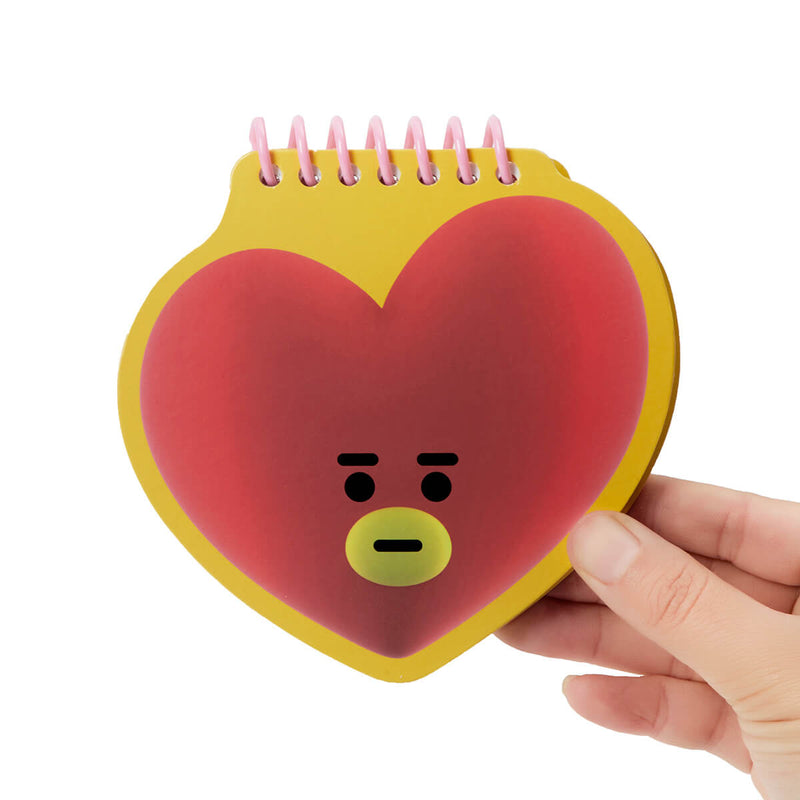 BT21 TATA Face Mini Spiral Notepad