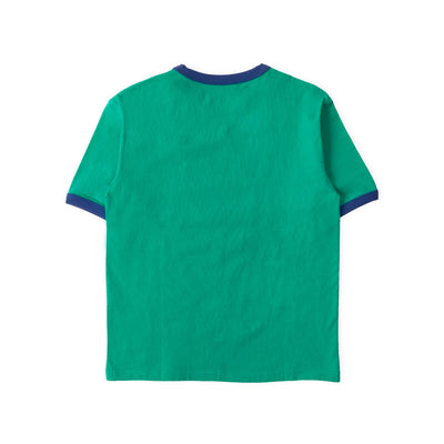 LINE FRIENDS SALLY Skate Ringer T- Shirt Green