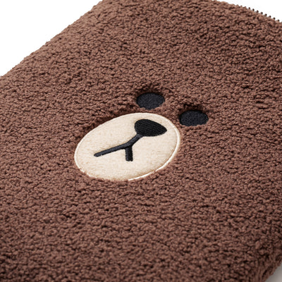 LINE FRIENDS BROWN Ppogeul Tablet Pouch 10""