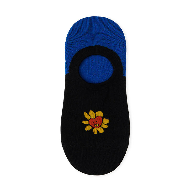 BT21 TATA Flower No Show Socks