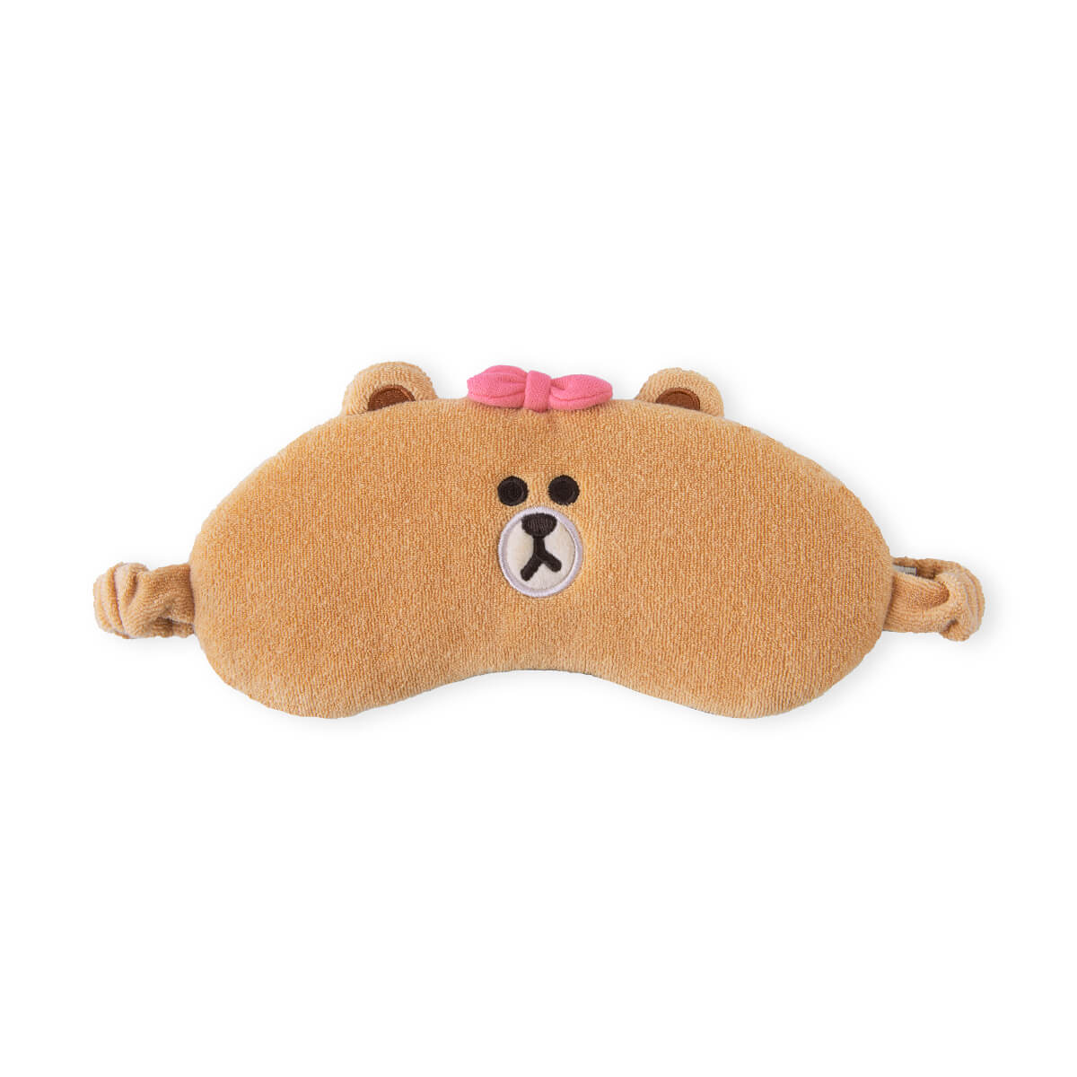 LINE FRIENDS CHOCO Microfiber Sleeping Mask