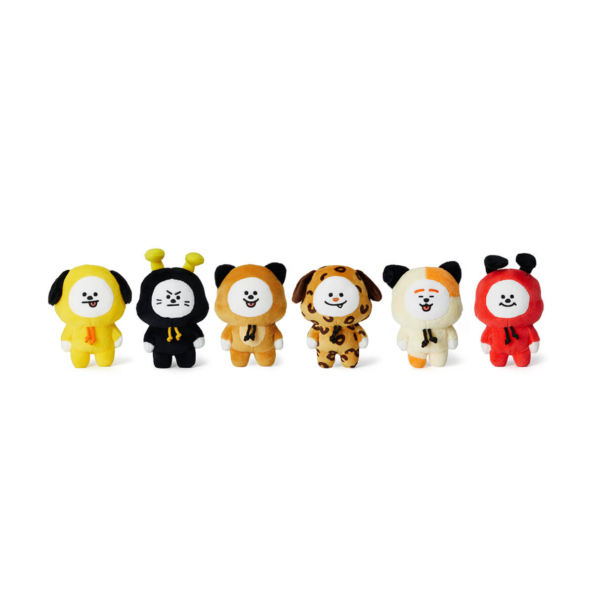 BT21 CHIMMY Universe Standing Doll Set