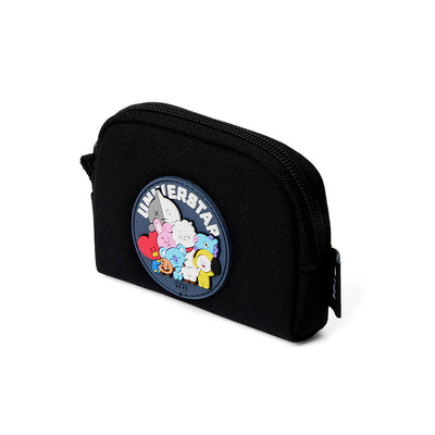 BT21 HEART Card Pouch Black