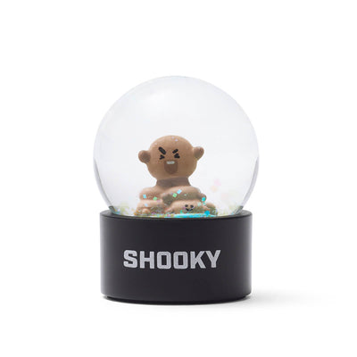 BT21 SHOOKY Mini Snow Globe