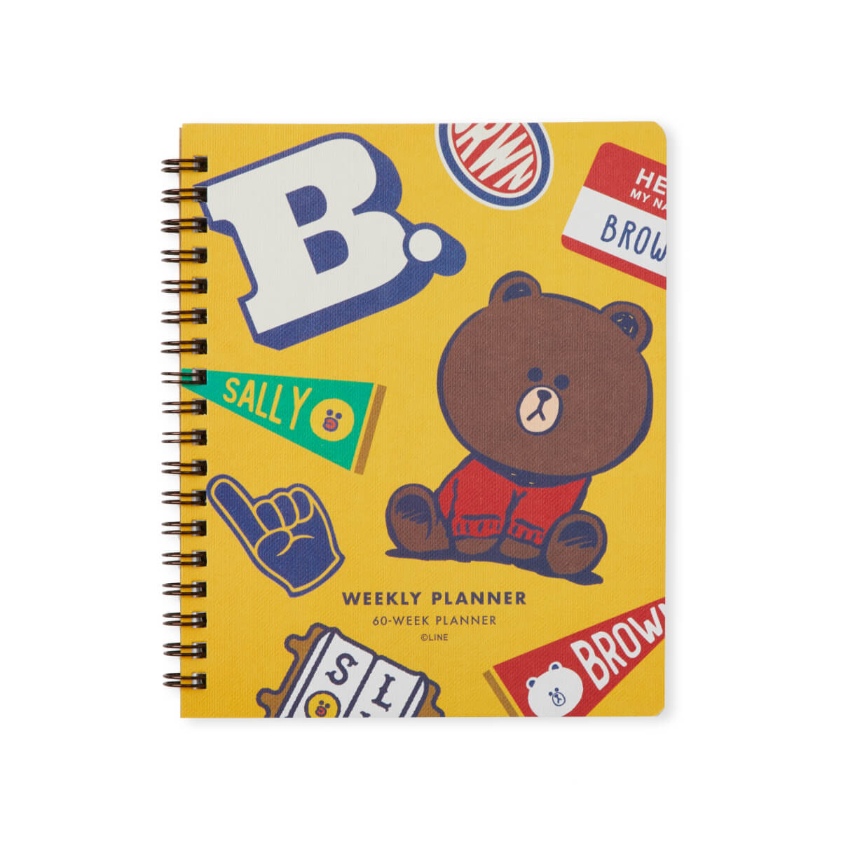 BROWN & FRIENDS University Weekly Planner