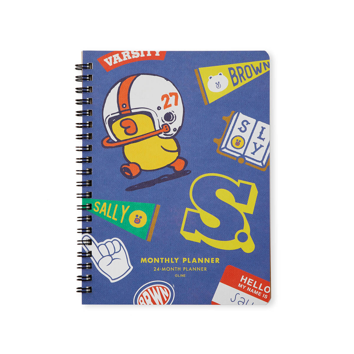 LINE FRIENDS BROWN & FRIENDS University Monthly Planner