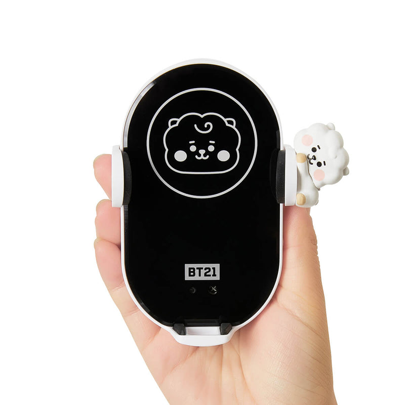 BT21 RJ Wireless Car Charging Phone Holder