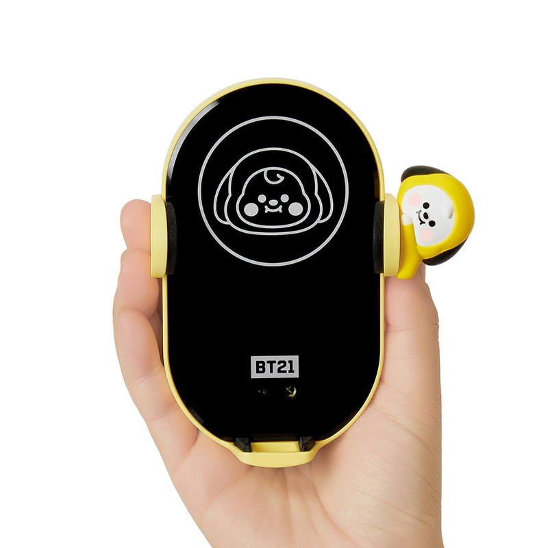 BT21 CHIMMY Wireless Car Charging Phone Holder