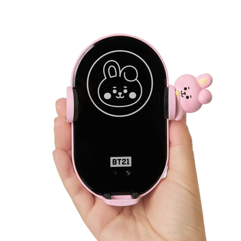BT21 COOKY Wireless Car Charging Phone Holder