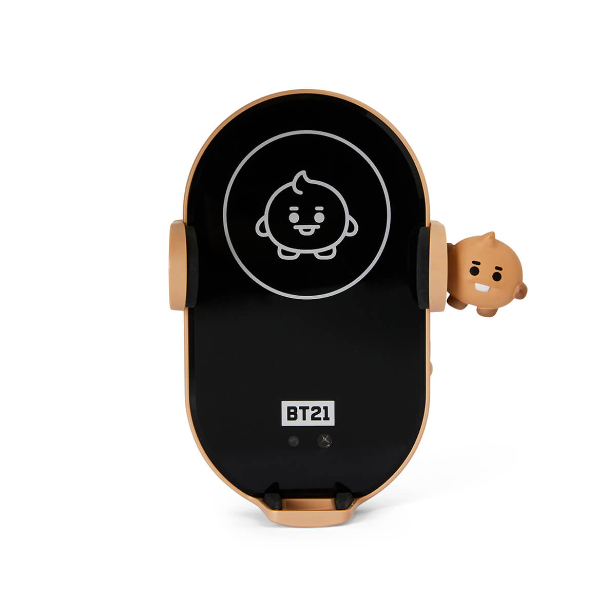 BT21 SHOOKY Wireless Car Charging Phone Holder