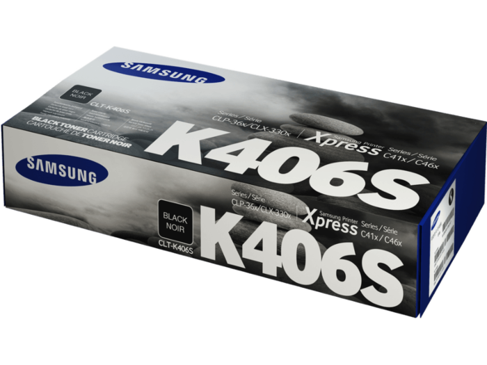 Samsung CLTK406S Black Toner Cartridge (1500 Yield) - Inks N Stuff Ltd.