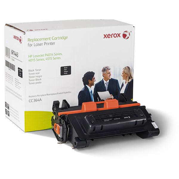 Xerox Remanufactured Toner Cartridge for LJ P4014 P4015 P4515 (Alternative for HP CC364A 64A) (11700 Yield) - Inks N Stuff Ltd.