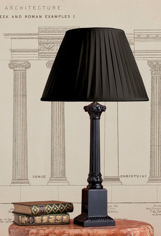 Black Corinthian Column