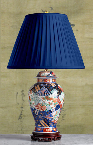 Antique Japanese Imari Lamps