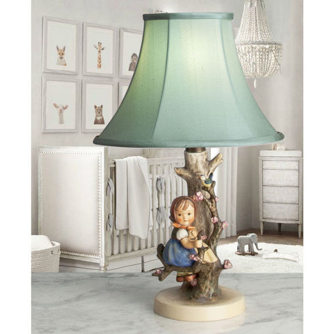"G075 A Charming Little Hummel Accent Lamp/Night Light ""Apple Tree Girl"" - Circa 1950's"