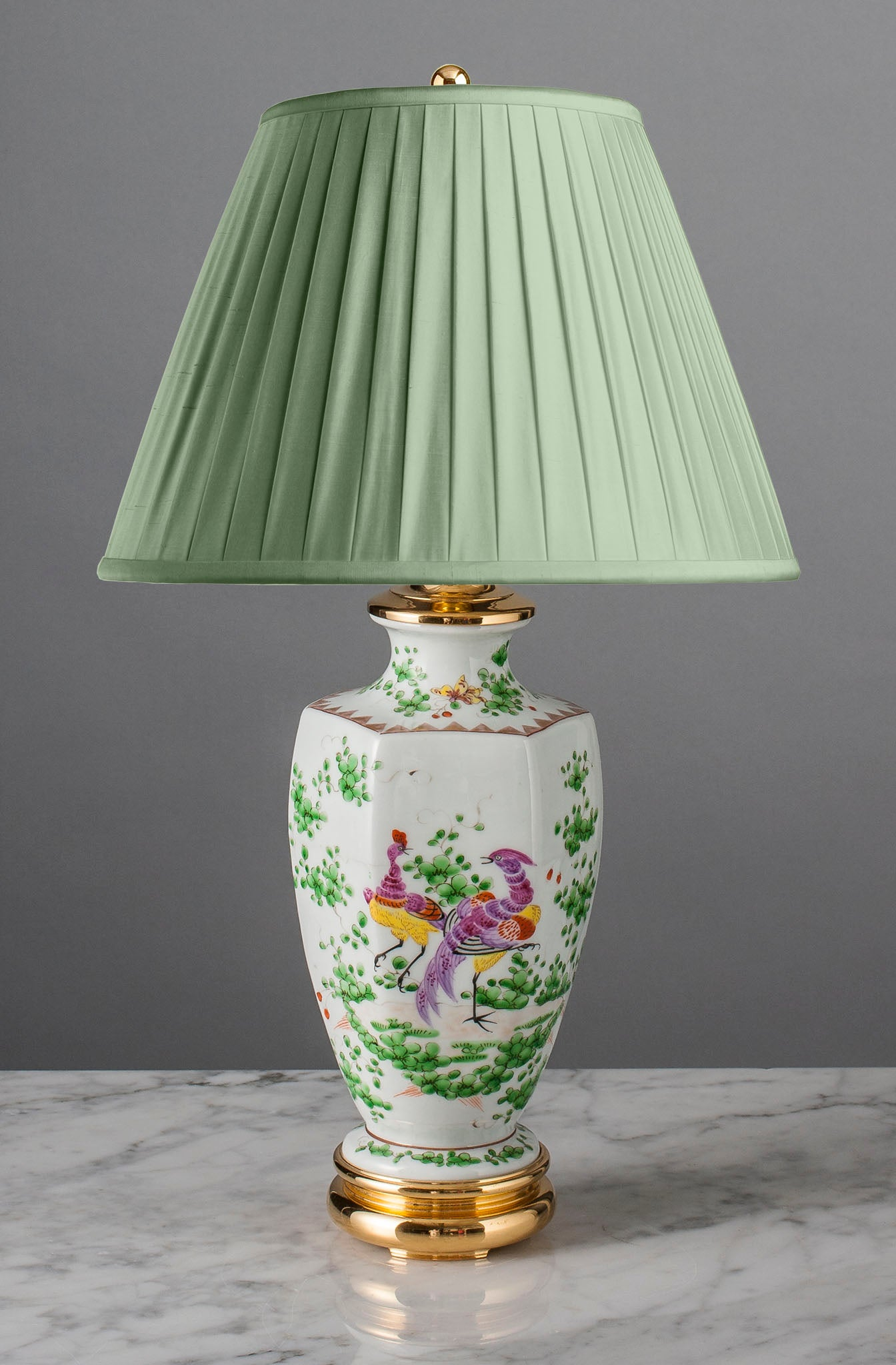 A026  A Decorative, 19th Century, French, Edmé Samson of Paris Lamp - Circa 1880