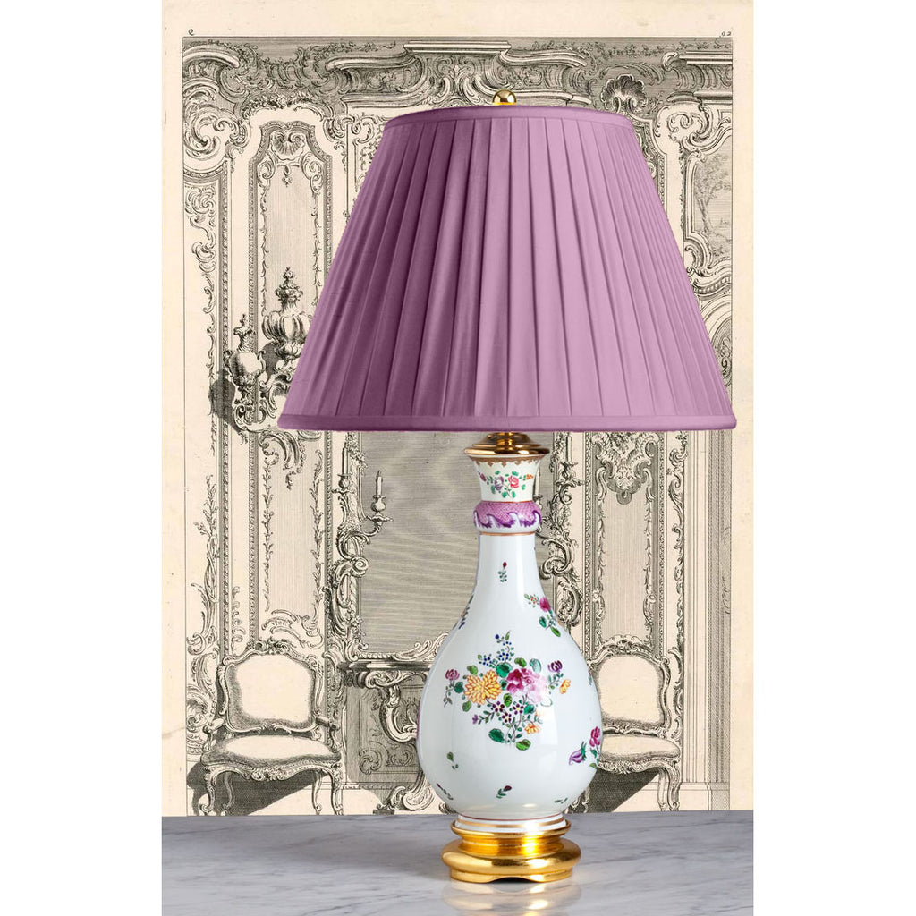 A065  A French Edmé Samson of Paris Lamp in Chinese Export Style - Circa 1890