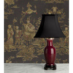 A073  A Fine Mid 19th Century Chinese Sang-de-Boeuf Accent Lamp - Circa 1850