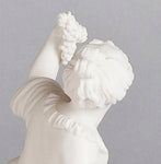 B052 A Very Pretty English Parian Ware Figure Of Summer As a Lamp - Circa 1860