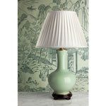 C023  A Decorative Contemporary Bottle Shaped Chinese Celadon Lamp