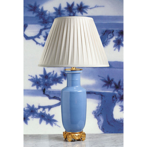 "C033  A Very Fine, Tall 19th Century Chinese ""Clair-de-Lune"" Lamp - Circa 1870"