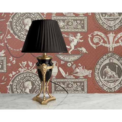D057 An Ultra Smart French Accent Lamp In Napoléonic First Empire Style - Circa 1870