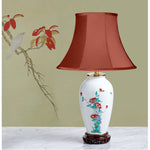 D081 An Antique Japanese Kakiemon Palette Lamp - Circa 1890-1900