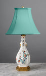 D087  A French 19th Century Edmé Samson of Paris Kakiemon Style Lamp - Circa 1870