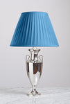 E002 An American, Hartford Sterling Trophy Shaped Silver Plated Lamp - Circa 1920's