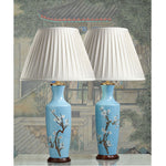 E012 A Very Decorative Pair Of Tall, Elegant, Vintage, Taiwanese Lamps - Circa 1960